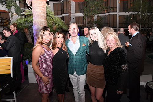 Carson Kressley hosted a great party Friday evening. Photo by Howard Schatzberg.