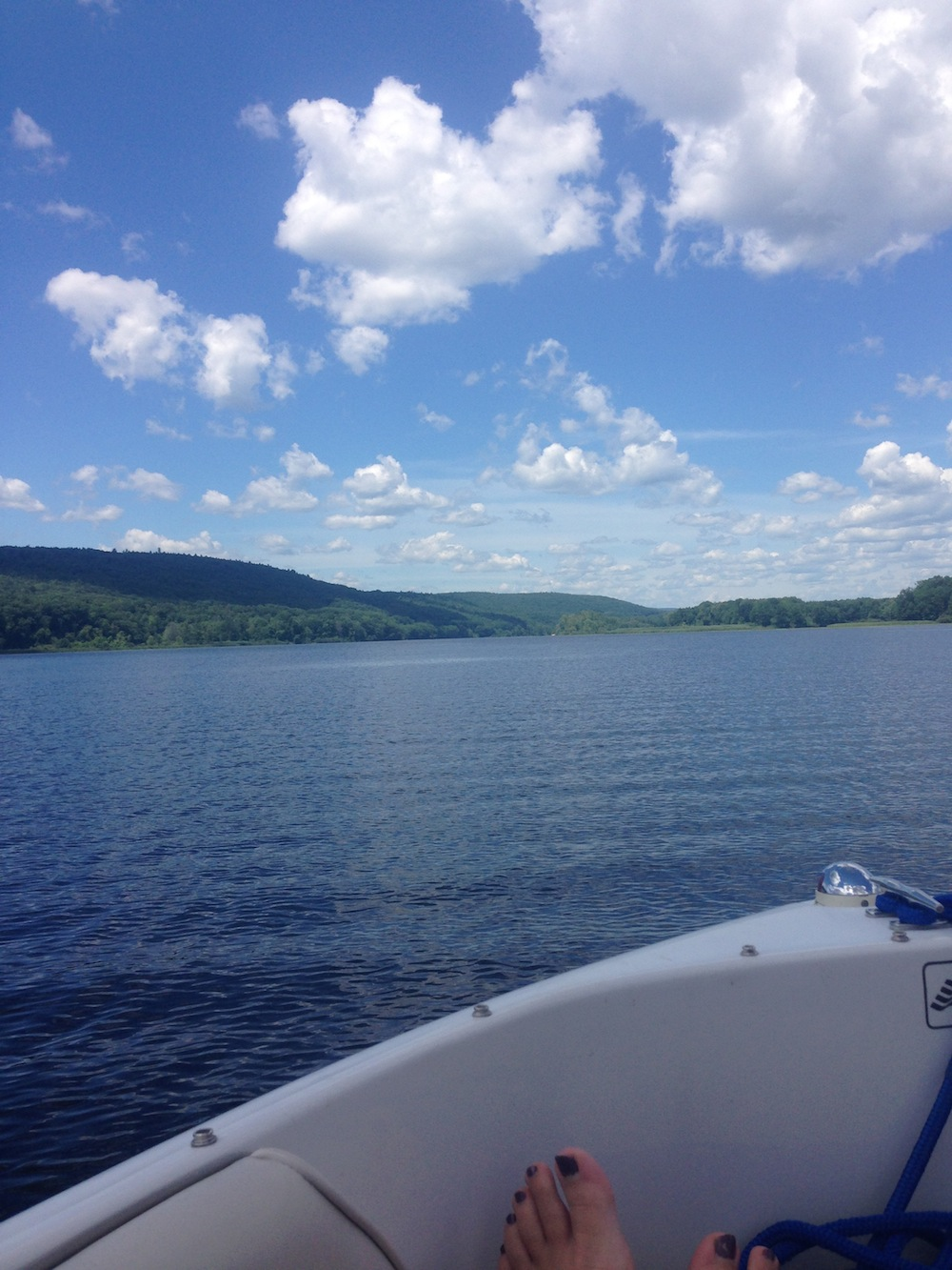 Boating is a great way to relax beyond the barn and after you've hauled a horse trailer hauling a boat is nothing.