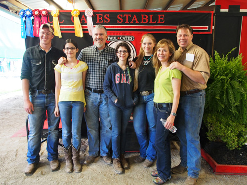 Paul Cates Stable enjoyed their time at Pin Oak.