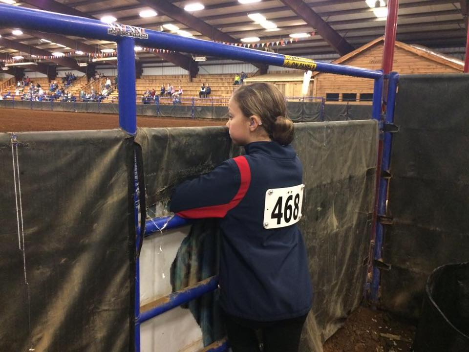 Allison at a Winter Tournament in Yadkinville, North Carolina this past February.