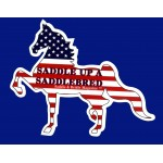 Saddle Up A Saddlebred Car Magnets
